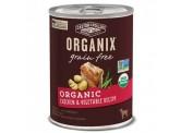 Organix 有機犬罐頭 - 雞+蔬菜 12.7oz